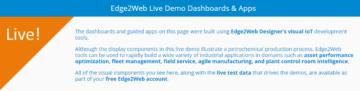Edge2Web Live IIoT Demo Dashboards & Apps